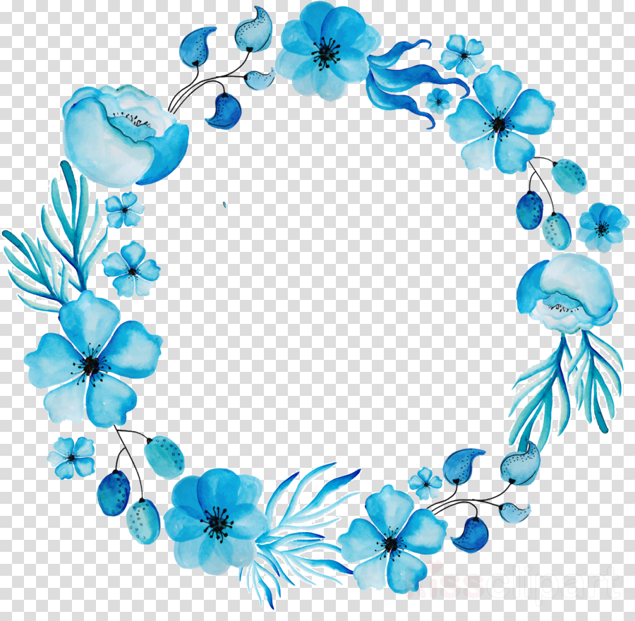 watercolor flowers blue png clipart Watercolor: Flowers Watercolor painting Watercolour Flowers