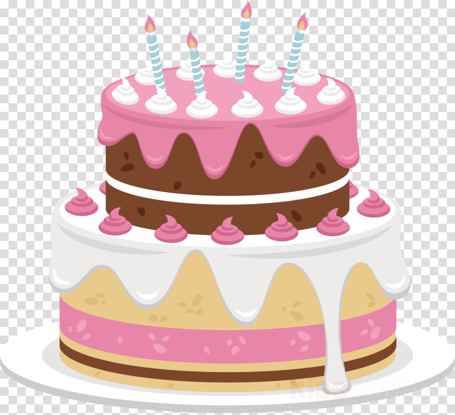 Birthday Cake Pink Png Clipart Frosting Icing Chocolate