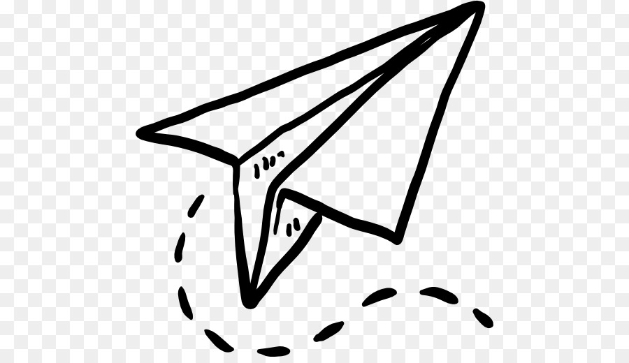 Paper Airplane Drawing Clipart Airplane Paper Origami
