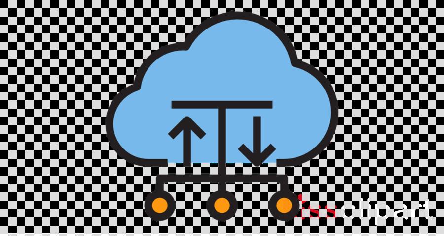 Cloud computing clipart Cloud computing Cloud database Logo