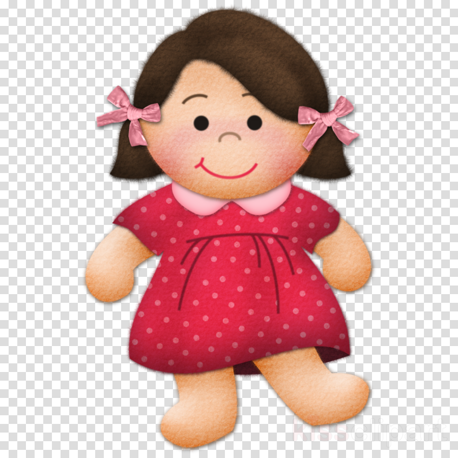 Drawing clipart doll drawing