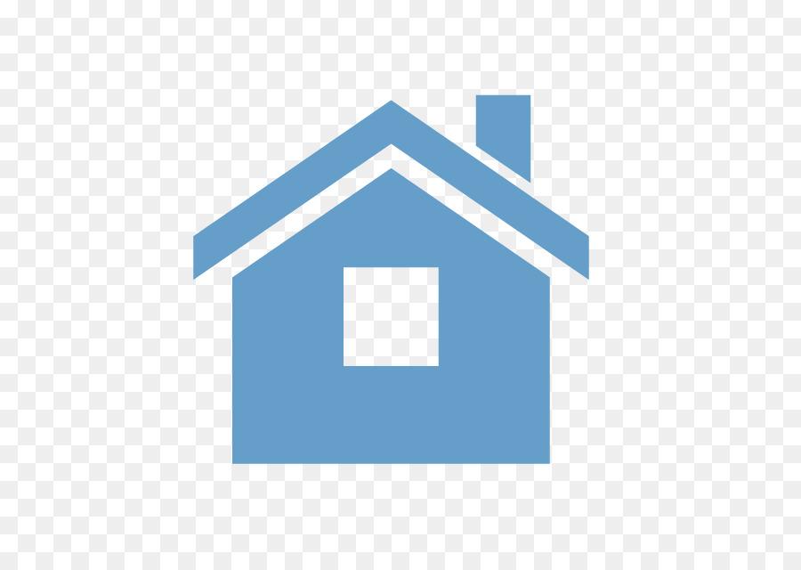 House Logo Clipart Illustration House Blue Transparent Clip Art