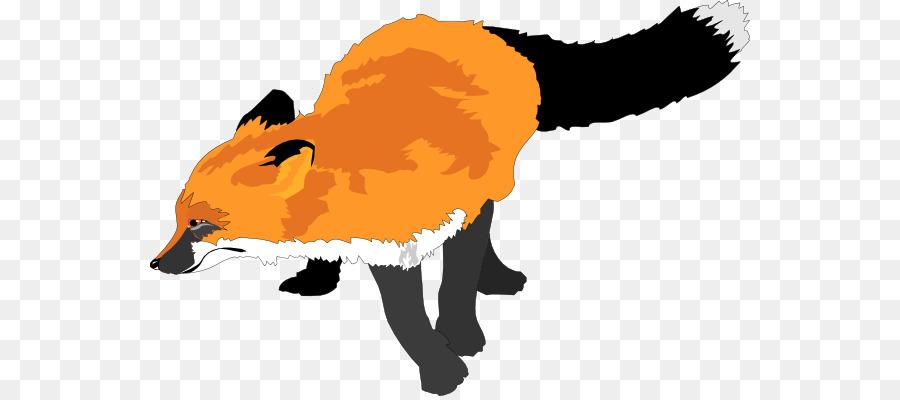 sly fox sticker clipart Red fox Clip art