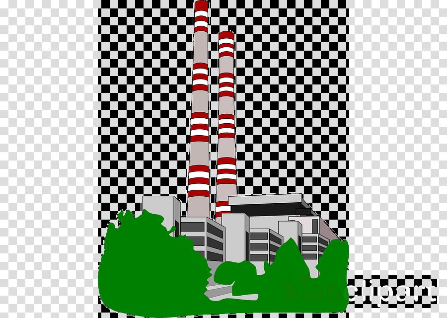 power plant clipart Power station Electricity Clip art
