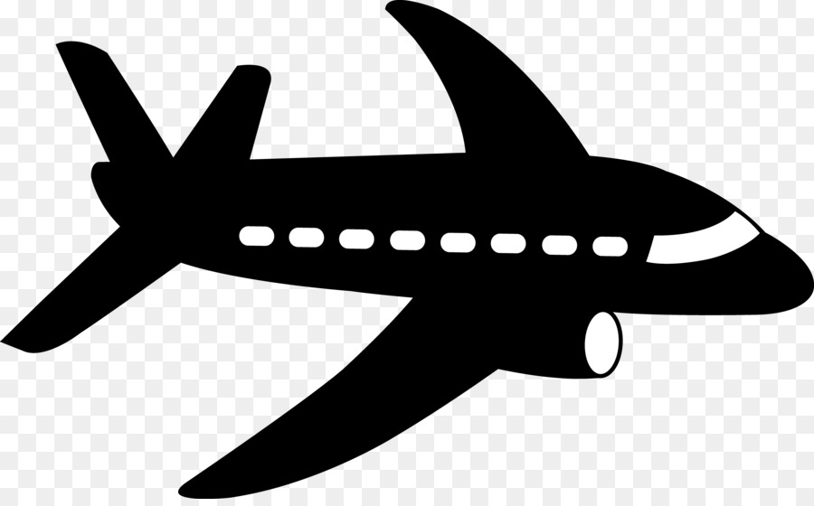 Airplane Silhouette Clipart Airplane Silhouette Wing