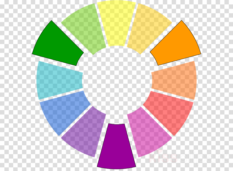 color wheel clipart Color wheel Paint