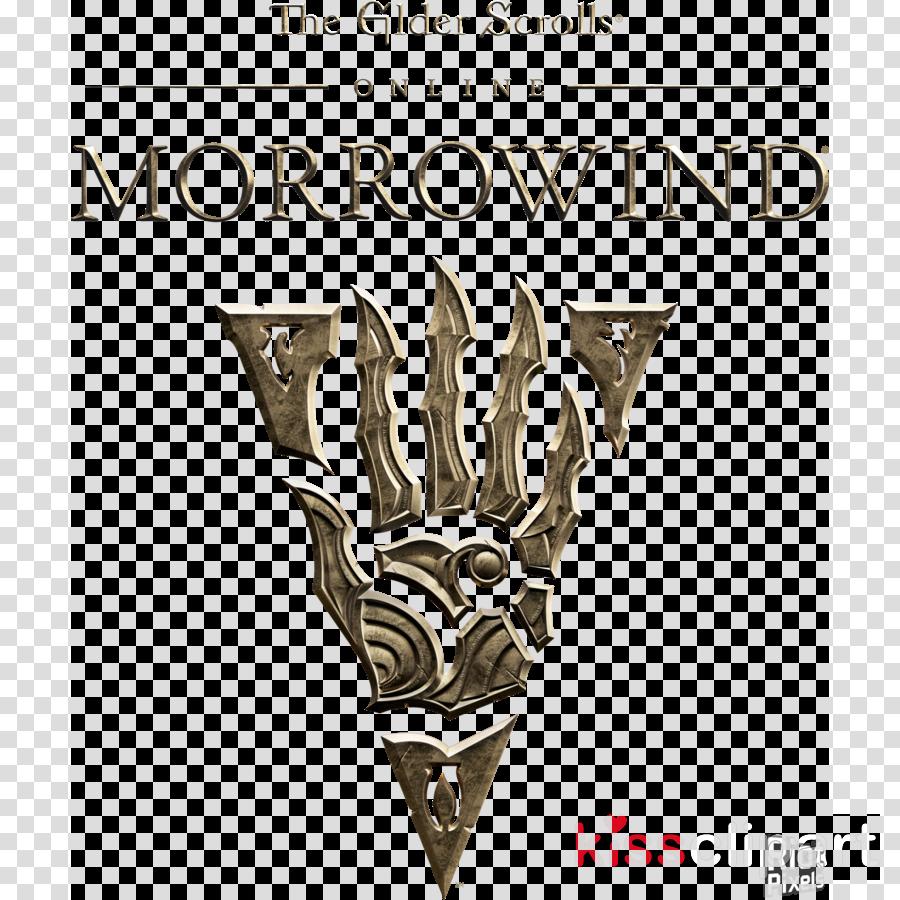 morrowind logo png clipart Elder Scrolls Online: Morrowind The Elder Scrolls III: Morrowind The Elder Scrolls V: Skyrim