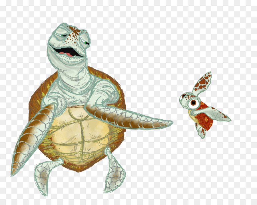 Crush Turtle Drawing