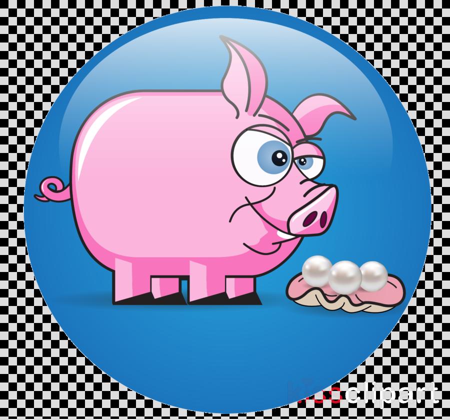 Domestic pig clipart Domestic pig Humour Clip art