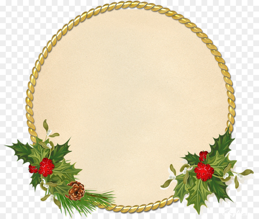 Vintage Christmas Picture Frame