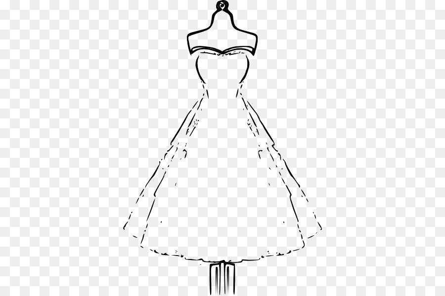 Wedding Dress Drawing