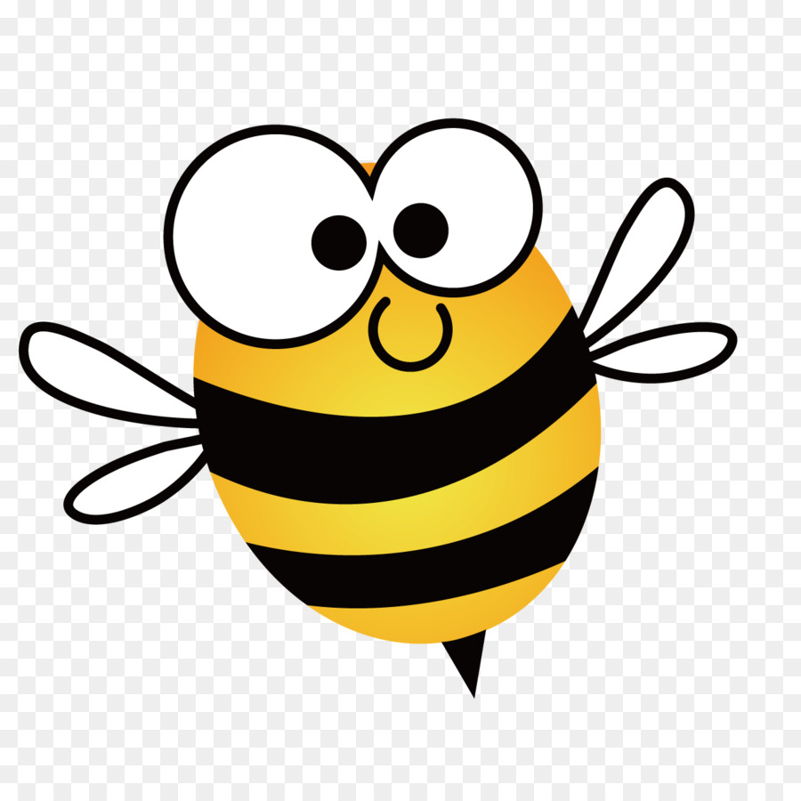 Cool Bee Illustration Art