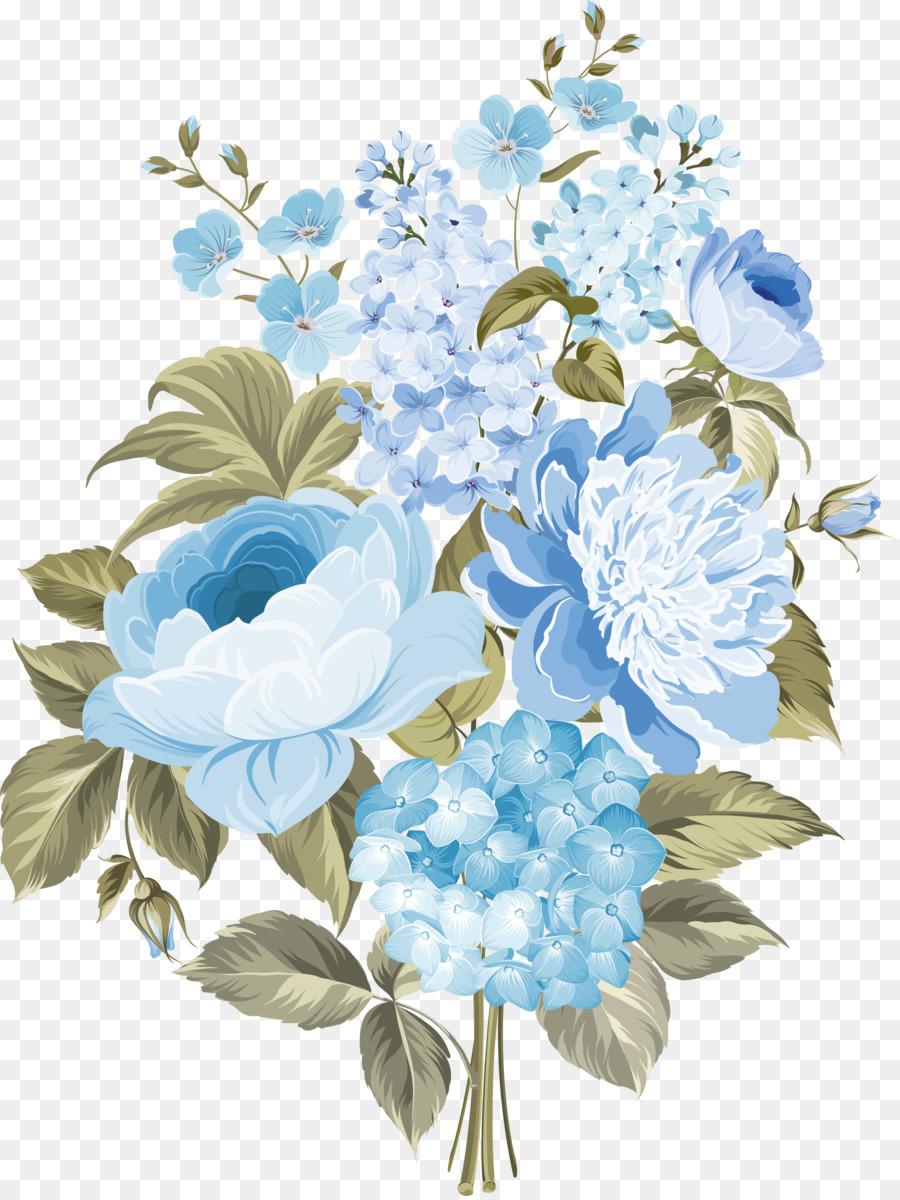 Floral Wedding Invitation Background