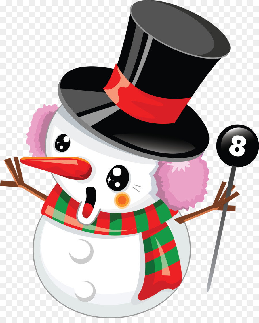 Snowman Winter Christmas Ornament