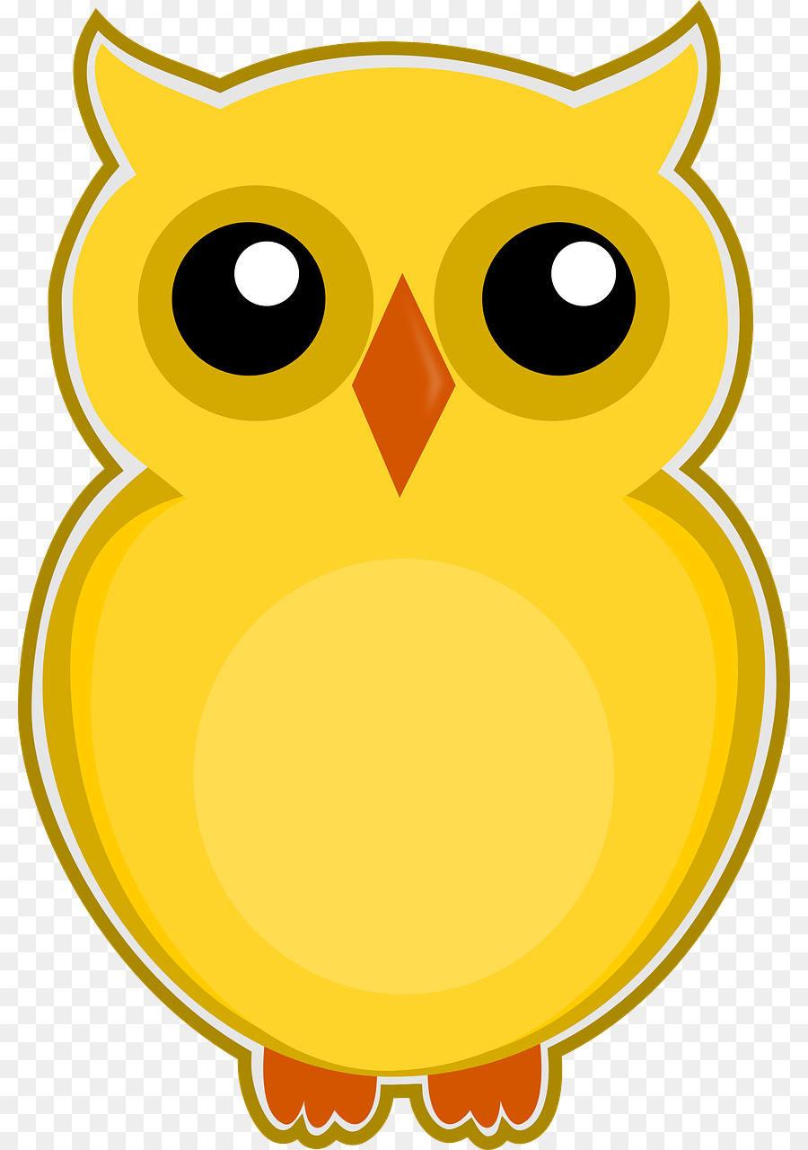 - Book Icon Clipart - Owl, Drawing, Color, Transparent Clip Art