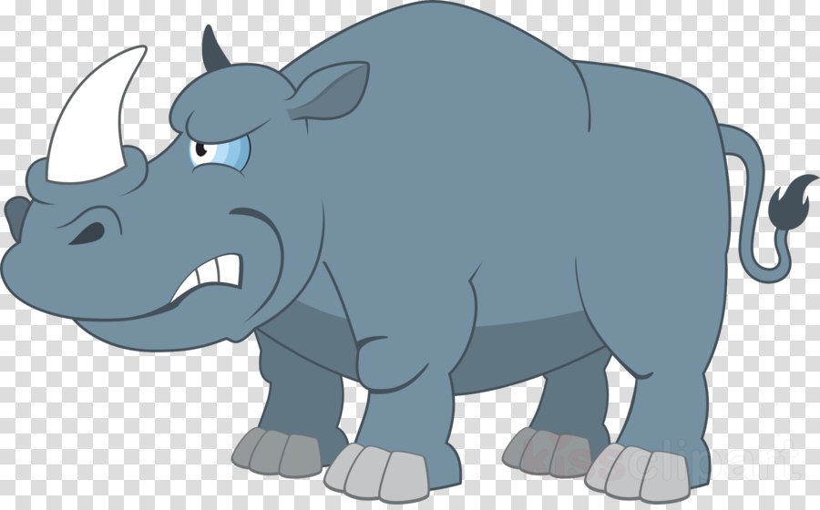 รูป การ์ตูน สัตว์ แรด clipart Rhinoceros Clip art