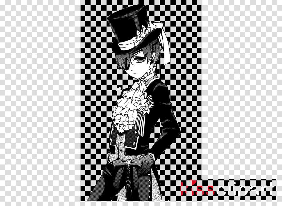 black and white pics of black butler clipart Ciel Phantomhive Sebastian Michaelis Black Butler 3