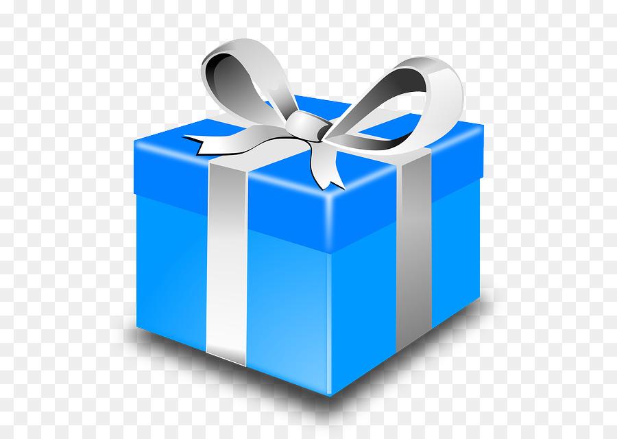 Birthday Gift Card Clipart Gift Birthday Blue Transparent Clip Art