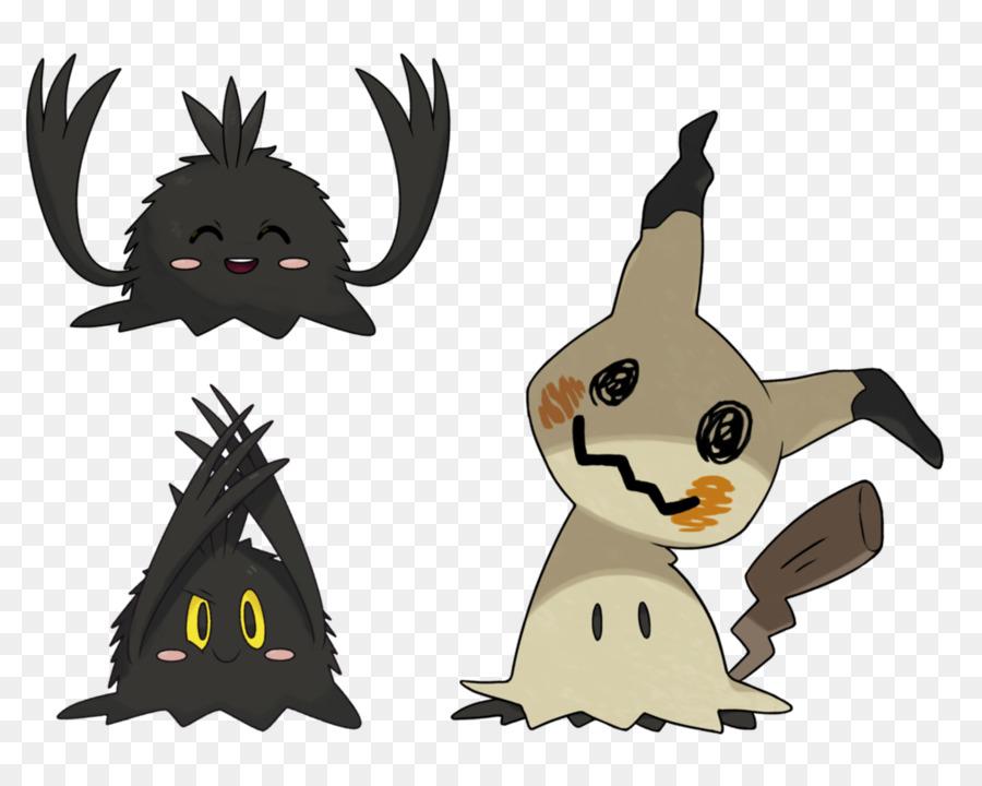 Mimikyu Without Cloth Clipart Pokemon Sun And Moon Pikachu