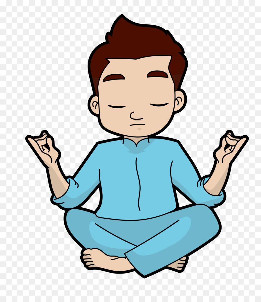 Woman Face Clipart Yoga Meditation Cartoon Transparent Clip Art