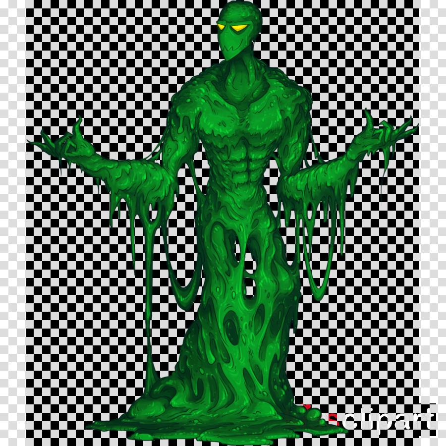 slime monster clipart Ooze Green slime Monster