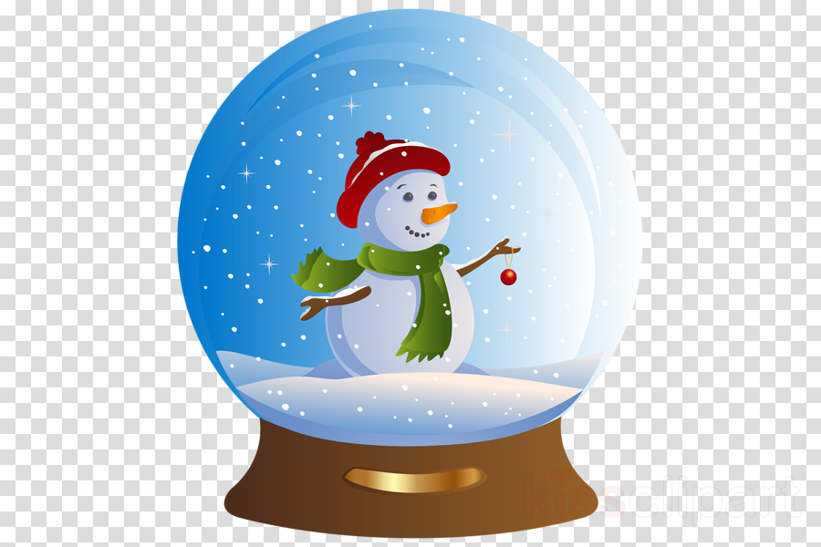 christmas snow globe transparents clipart Santa Claus Snow Globes Clip art