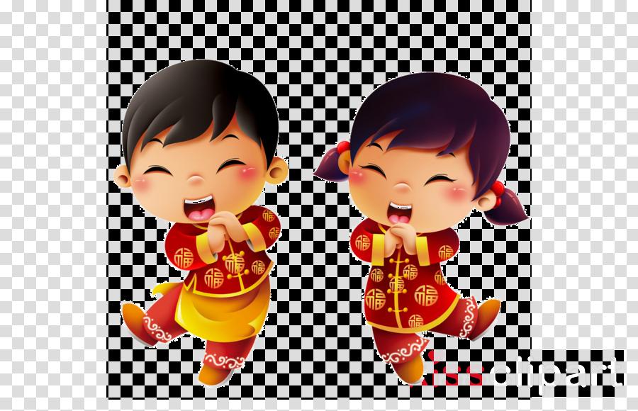 Chinese New Year Lion Dance Cartoon Clipart Lion Dance
