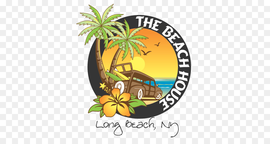 Beach Cartoon Clipart Beach Bar Text Transparent Clip Art
