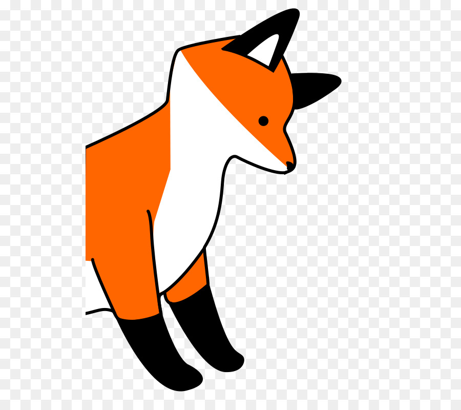 Fox clipart Red fox Silver fox Arctic fox