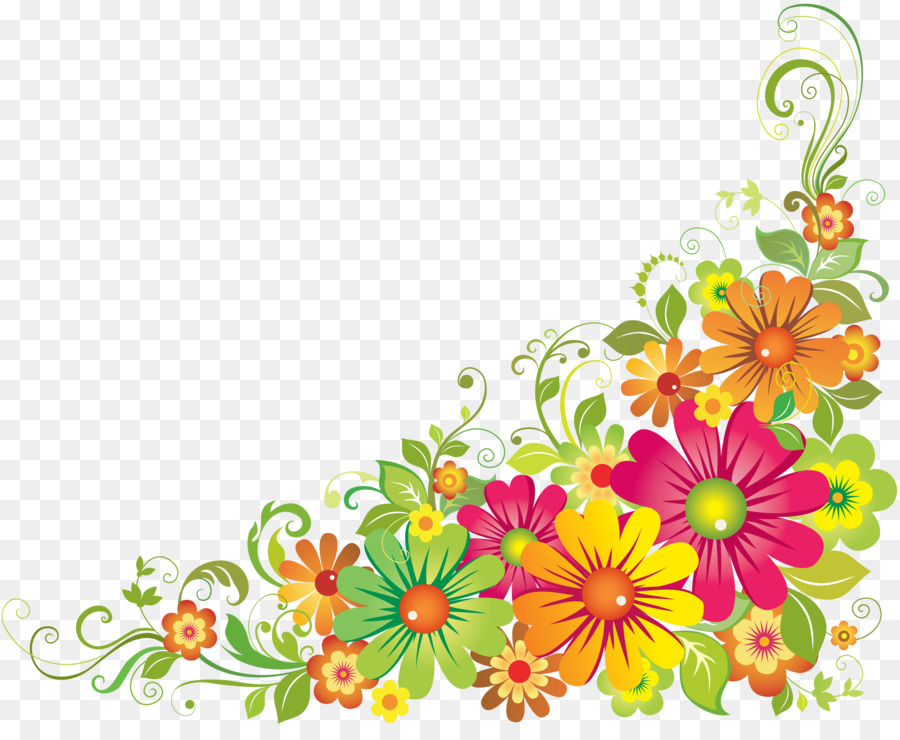 Flower Design Yellow Transparent Png Image Clipart Free Download