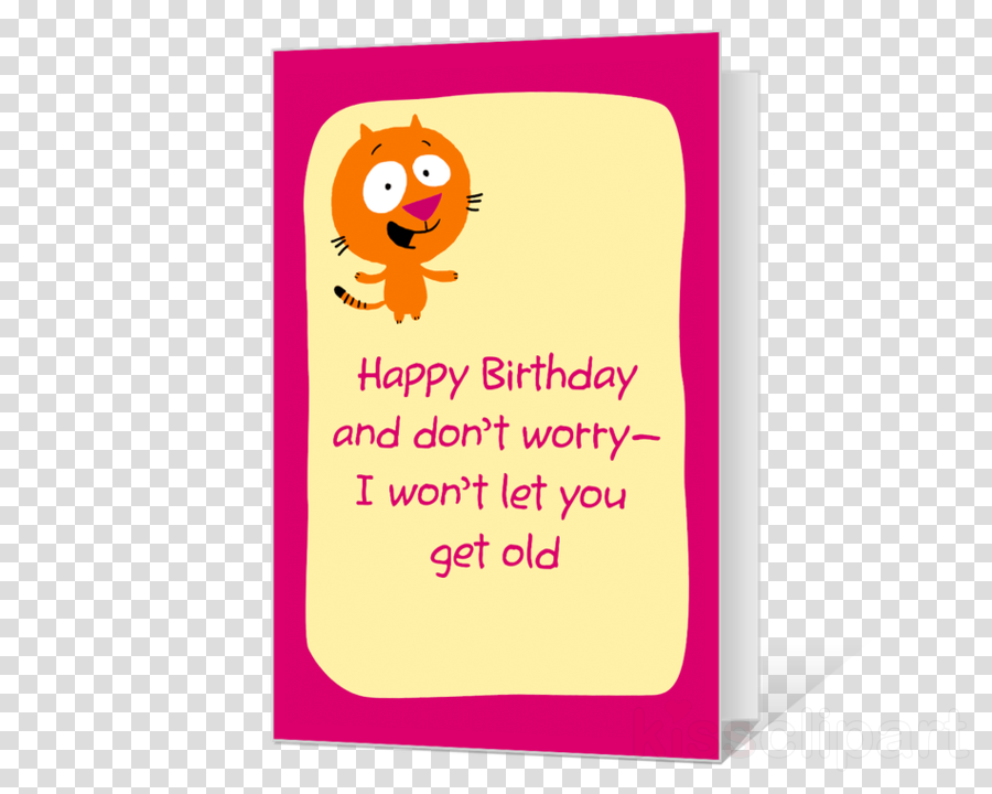 60th Birthday Cards Clipart Greeting Note Kitten Card