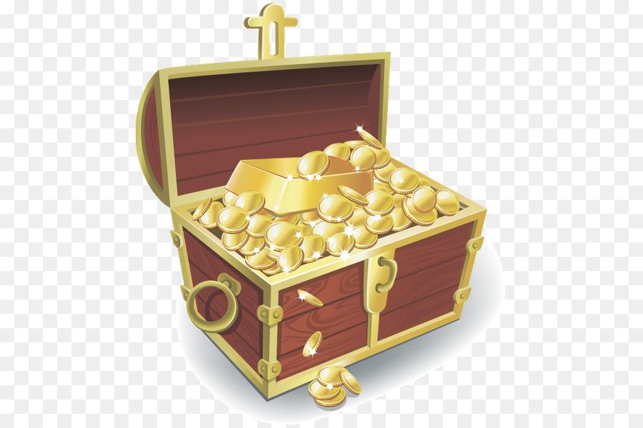 gold treasure vector clipart Gold Treasure