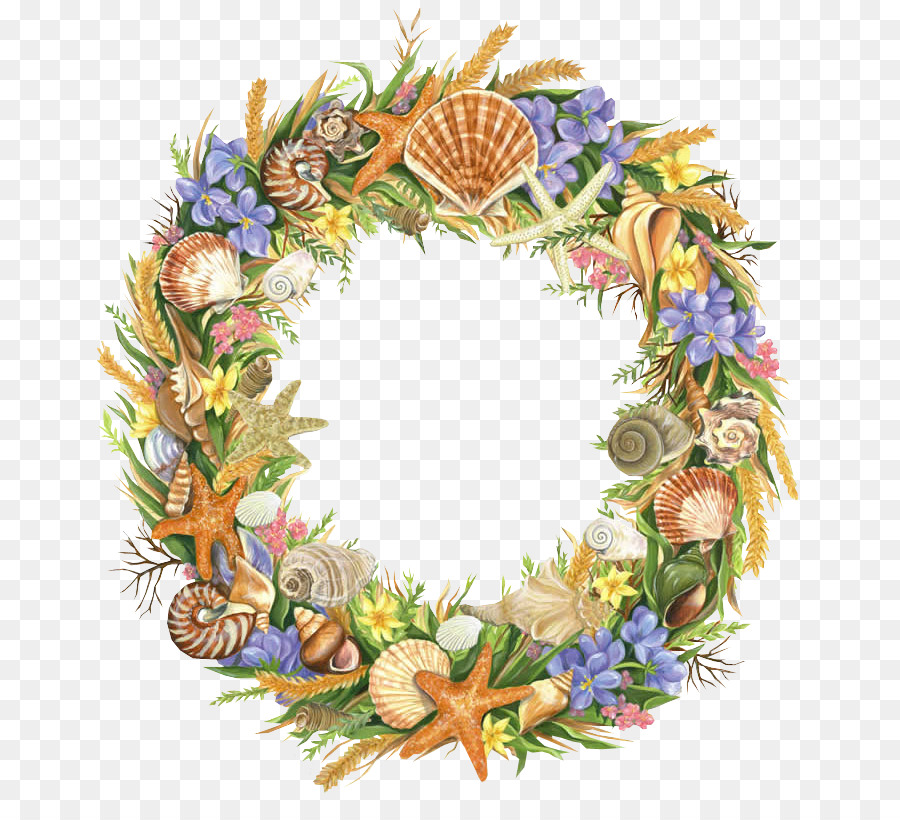 Christmas Wreath Drawing.Christmas Wreath Drawing Clipart Wreath Flower Drawing