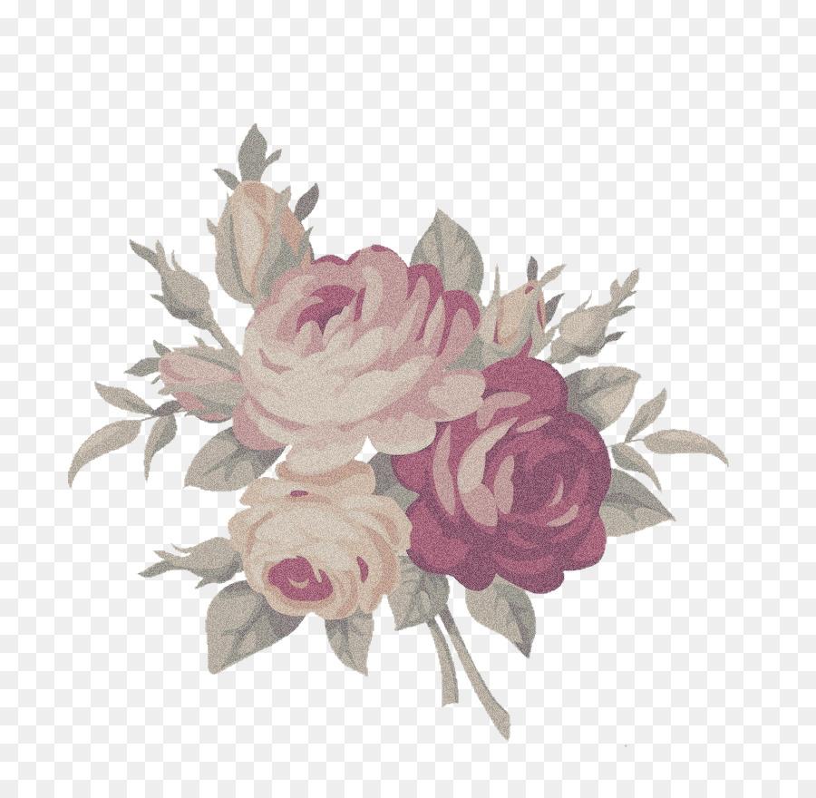 Floral Flower Background Clipart Flower Illustration Rose