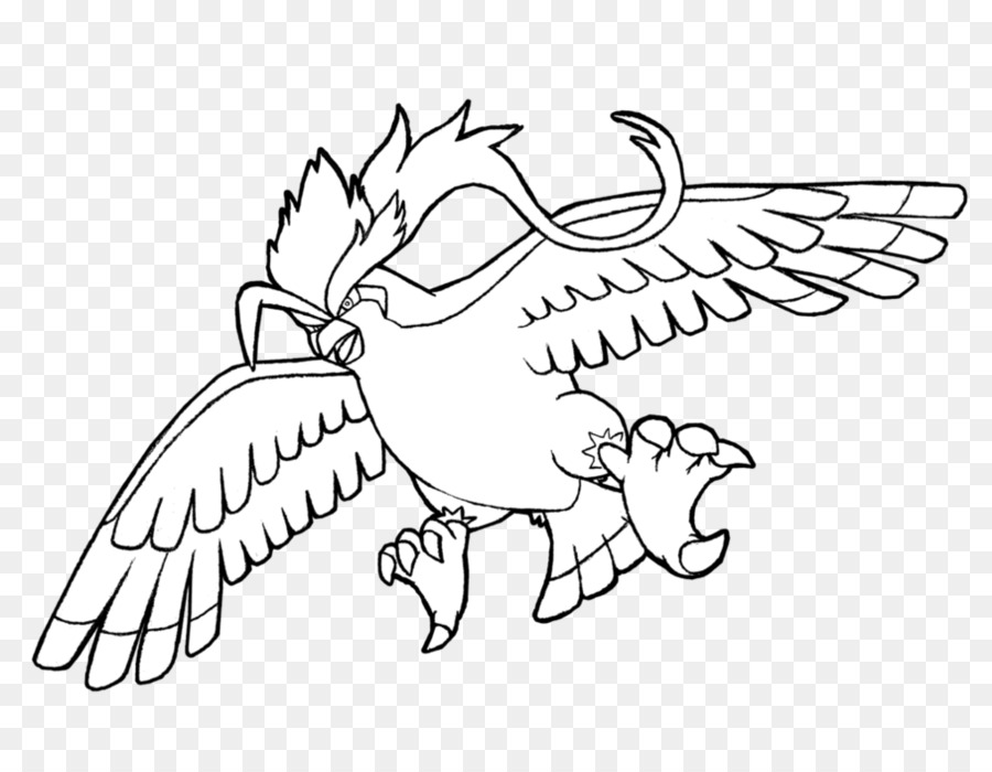 Download Pidgeot Clipart Pidgeot Drawing Kleurplaat Drawing White