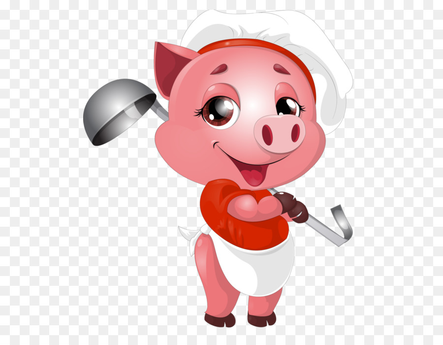 Domestic pig clipart Domestic pig Ham