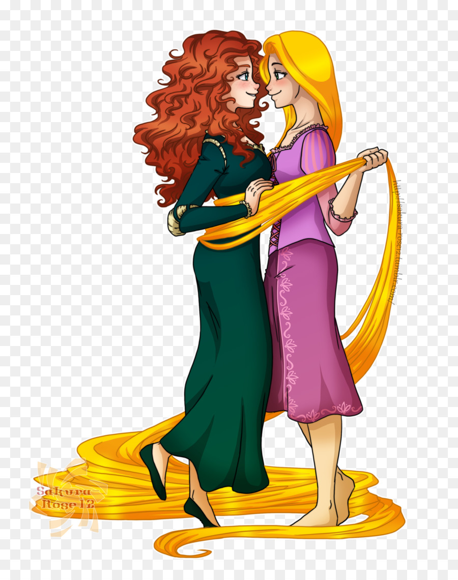 merida and rapunzel deviantart clipart Merida Rapunzel Lord Macintosh