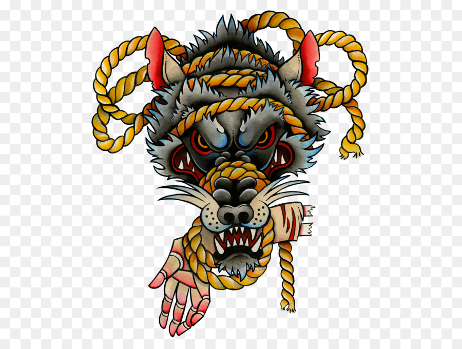 4f68dcd08 Wolf, Tattoo, Head, transparent png image & clipart free download