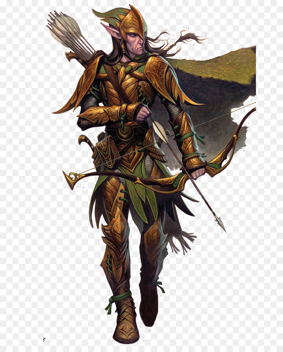 elf ranger clipart Dungeons & Dragons Pathfinder Roleplaying