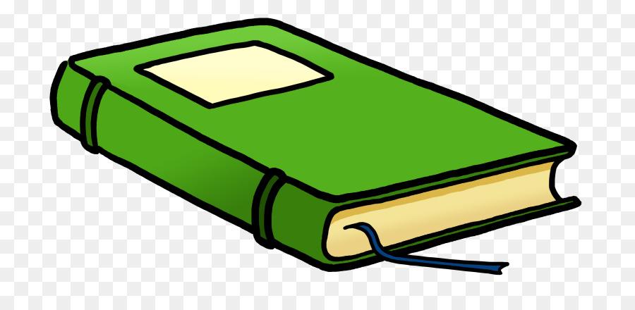 Book Cartoon Clipart Book Green Yellow Transparent Clip Art