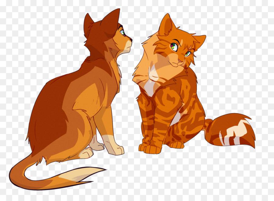 Forest Background clipart - Cat, Drawing, Orange, transparent clip art