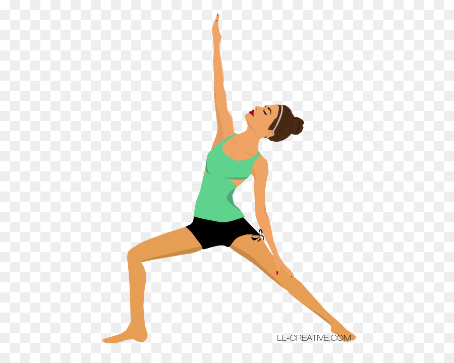 Yoga Cartoon Clipart Illustration Yoga Drawing Transparent Clip Art