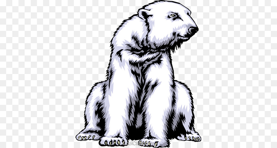 Download Coloriage Ours Polaire Clipart Polar Bear Coloring Book