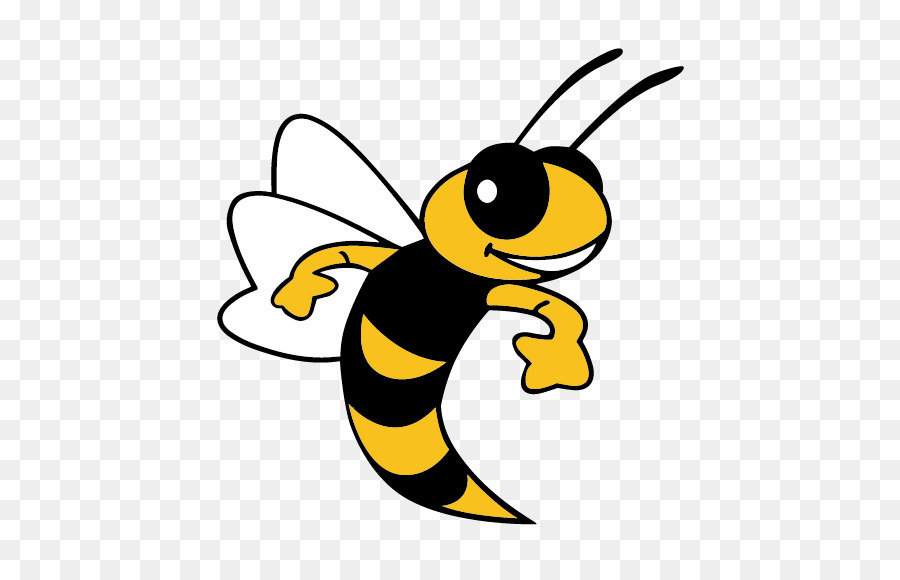 Cartoon Yellow Bee Transparent Png Image Clipart Free Download