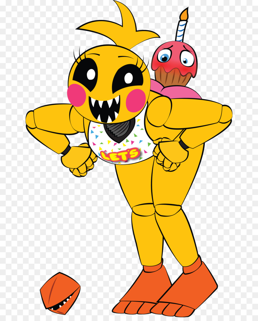 toy chica but clipart Five Nights at Freddy's 2 Five Nights at Freddy's 3 FNaF World