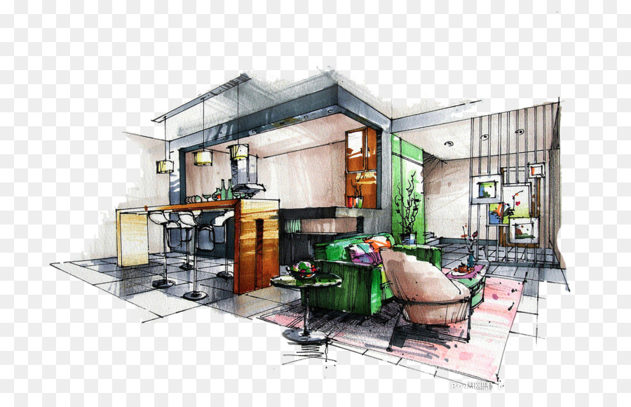 Painting Cartoon Clipart Architecture Design Drawing