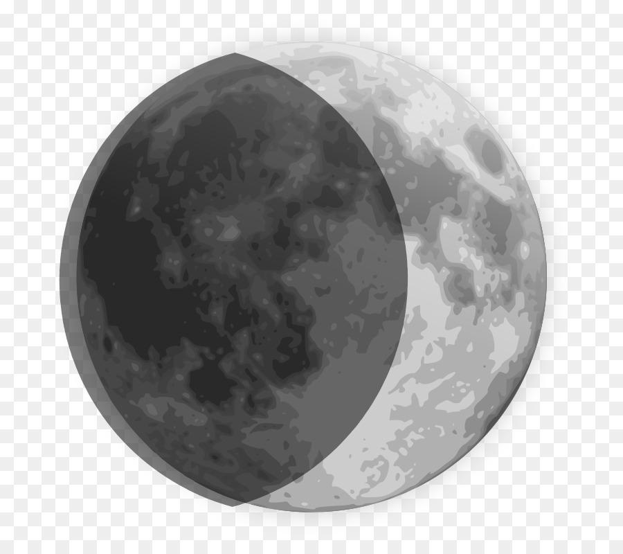 Crescent Moon Drawing