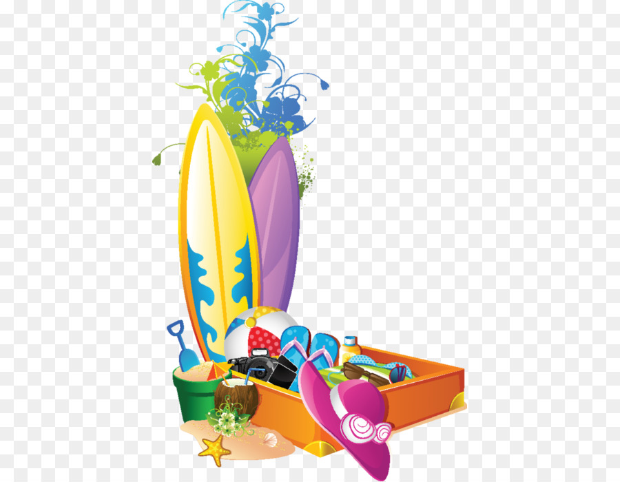 kids summer backdrop printable clipart Beach Clip art