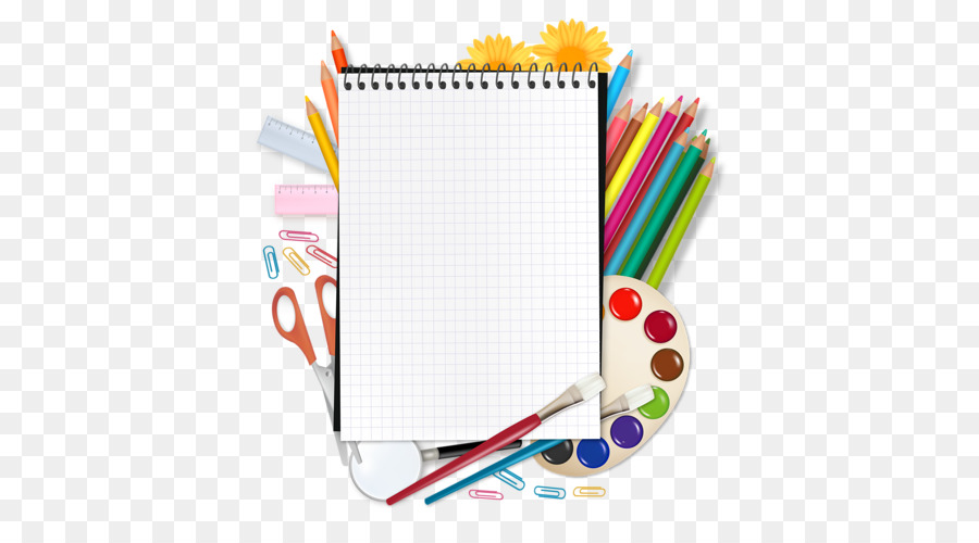 Back To School Paper Background