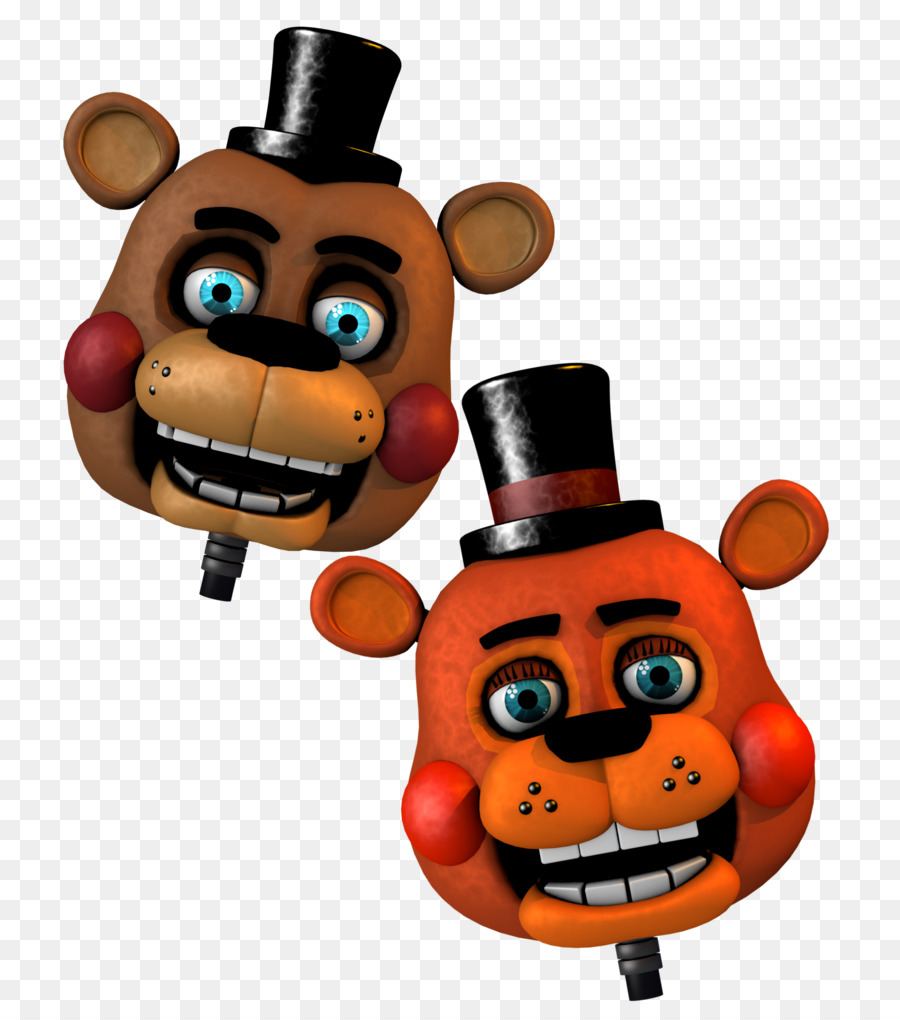 Download Five Nights At Freddys Clipart 3 Sister Location Cartoon Orange Product